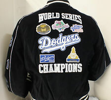 LOS ANGELES DODGERS BLACK WORLD SERIES CHAMPIONS WOMEN'S JACKET