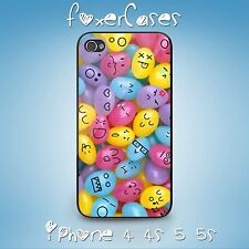 Retro Vintage Fun Cute Candy Jelly Bean Faces Case for iPhone & Samsung Galaxy