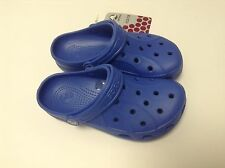 Crocs Kids Feat / Ralen Clog Sea Blue All Size C6/7 C8/9 C10/11 C12/13 J1 J2 J3
