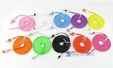3M Color Noodle Flat Micro USB to USB 2.0 5 Pin Data Sync Cable For Cellphone