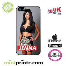 ★ THE VALLEYS JENNA SEXY MTV ★ Case IPH5 iPhone 5 5S & 4 & 4S HARD back COVER ★