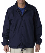 Ultraclub Men's Nylon Coaches Jacket 8944