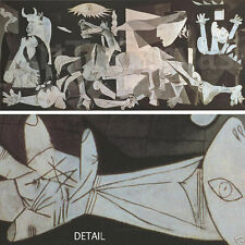 """50W""""x22H"""" GUERNICA by PABLO PICASSO, BASQUE, BISCAY Repro - CHOICES of CANVAS"""