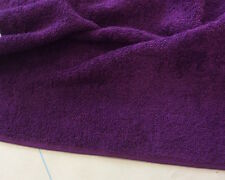 Pure Cotton Terry Towelling Fabric - 5 Colours Available