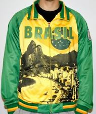 Brasil Brazil FIFA 2014 World Cup Soccer Sublimated Track Jacket