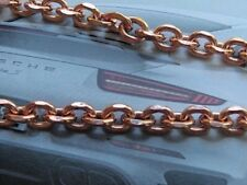 Solid Copper Anklet CA654G - Available in 8, 8 1/2, 9, 9 1/2, 10, 10 1/2 & 11""