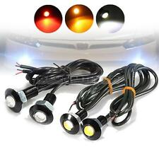 3W LED Eagle Eye Car Motorcycle DRL Daytime Running Tail Backup Light 3 Color