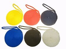 Mooring Ropes, Warps, Boat Lines, Yachts, Canal, Navy Blue, Black, Yellow, White