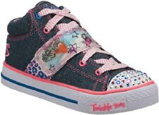 SKECHERS GIRLS' TWINKLE TOES LIGHT
