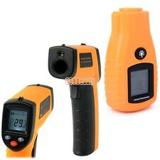 LCD Non-Contact Infrared Laser Point IR Digital Thermometer Temperature
