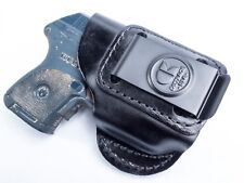 Ruger LCP w/ Crimson Trace   Genuine Leather IWB Conceal Carry Inside Holster