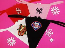 YOU CHOOSE MLB TEAM Sexy Womans Thong Panties Camisole Boyshorts Underwear #213
