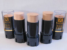 X Factor Panstik Creamy Foundation - Pan Stik - Various Shades - Brand New 8g