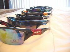 MEN'S ALL SPORT X-LOOP SUNGLASSES DRIVING  BOATING WATER SKIING UV 400.FREE CASE