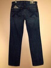 $225 Men's Seven 7 For All Mankind Standard Straight Leg 100% Cotton Jeans 31