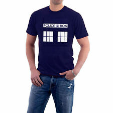 British Police Box T-shirt Retro Adults and Children by The Generic Logo Company