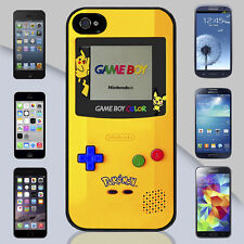 New Yellow Game Boy Pokemon iPhone & Galaxy Case (2d-no physical buttons) Cover