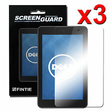 """3 x Ultra Clear Screen Guard Protector Film for Dell Venue 7 7.0"""" Andriod Tablet"""