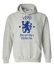 1982 You Can't Ban A Chelsea Fan Hoodie, Retro Football Hooligan, S-5XL