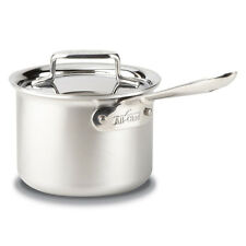 All-Clad d5 Brushed Stainless Steel Saucepan with Lid