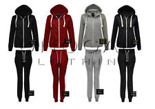 NEW LADIES TRACKSUIT JOGGING BOTTOMS WOMENS PANTS JOGGERS HOODIE SIZES 8-14