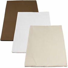 Poly-Cotton Fitted Massage Table Sheets 10pk Body Linen