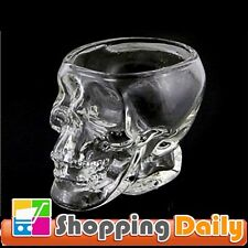Crystal Skull Head Vodka Whiskey Shot Glass Bottle