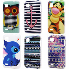 Lovely Tiger Stitch Pattern Hard Back Protect Case Cover for ZTE Kis Plus V788D