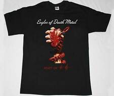 EAGLES OF DEATH METAL HEART ON QUEENS OF THE STONE AGE NEW BLACK T-SHIRT