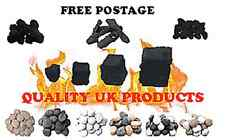 imitation coals/ high detail logs/ hole in wall fires /lpg stones/bio fuels