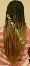 Ombre 2 Tone Braid. Not X-Pression or Xpression Braiding. Hair. Options