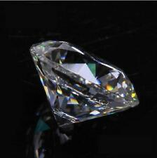 10pcs White Clear AAA Round Brilliant Cut Cubic Zirconia CZ Size 4-10mm
