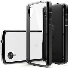 Caseology Google Nexus 5 Hybrid Fusion Clear Back Slim Bumper Case Cover