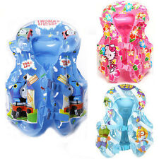 Baby Kids Toddler Boy Girl Swim Wear Safety Vest Life Jacket Pool Float Aid Suit