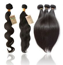100 % Real Natural Brazilian Virgin Remy Human Hair Extension Best Prices!!