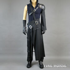 FF Final Fantasy 7 VII Cloud Strife Cosplay costum Kostüm mit Schuhe full set DX