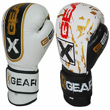 Boxing Gloves Sparring MMA UFC Fight Punch Bag Mitt Rex Leather 12OZ, 14OZ, 16OZ