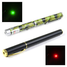 New Style 5mW Presentation 532nm Red Green Powerful Laser Pen Pointer Beam Light