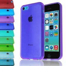 SLIM GEL CLEAR CASE FOR APPLE IPHONE 5C THIN SOFT TRANSPARENT BACK COVER