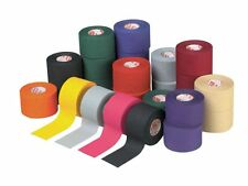 """NEW MUELLER MTAPE 1.5"""" x 10yd ATHLETIC TRAINERS SPORTS M TAPE ALL COLORS 2 ROLLS"""