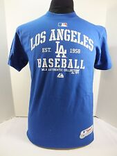 LOS ANGELES DODGERS  MLB  ADULT TSHIRT NEW BY MAJESTIC