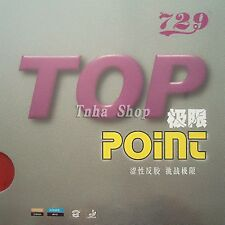 729 Top-Point (NON-TACKY)  Pips-In Table Tennis, Pingpong Rubber, NEW