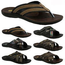 NEW MENS BOYS SHOWER POOL GYM MULES BEACH FLIP FLOPS SUMMER SHOES SANDALS Z*