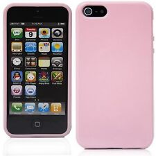 New Pink Soft Silicone Case Cover Skin for Apple iPhone 5 5S