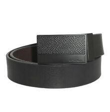 Ceinture Cuir Réversible  Homme Calvin Klein T 85,  90 Belt Mens Leather (S0093)
