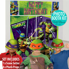 TEENAGE MUTANT NINJA TURTLES TMNT PARTY SCENE SETTER OR SWIRL DECORATIONS