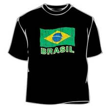 FIFA World Cup 2014 Brazil Map Tee Shirt