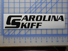 "Carolina Skiff Logo Decal Sticker 7"" 11"" 18"" 23"" DLV DLX JVX JV J Series Boat"