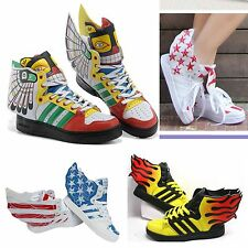 New Unisex Fashion Sneakers Casual Ankle Shoes Sweet Angel Wings Lace up