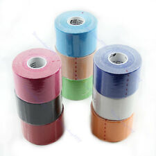 1 Roll Kinesiology Sports Muscles Care Elastic Physio Therapeutic Tape 5m x 5cm